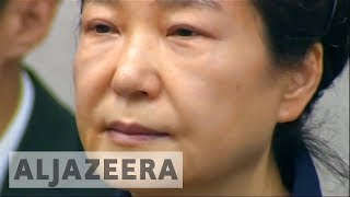 Park Geun-hye trial: Former South Korean president accused of corruption