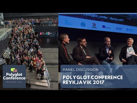 Polyglot Conference Reykjavik 2017 - Panel discussion