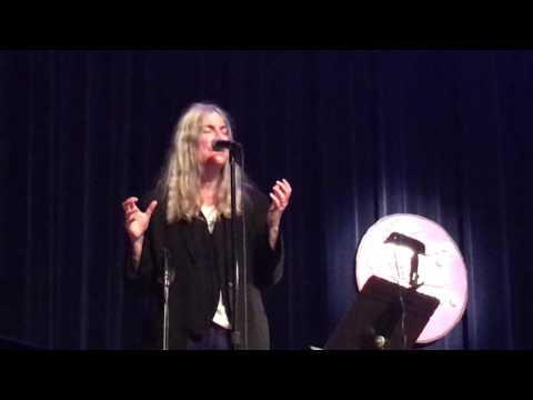 Patti Smith at Breaking Through Power