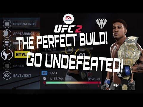 BEST UFC 2 Player Creation
