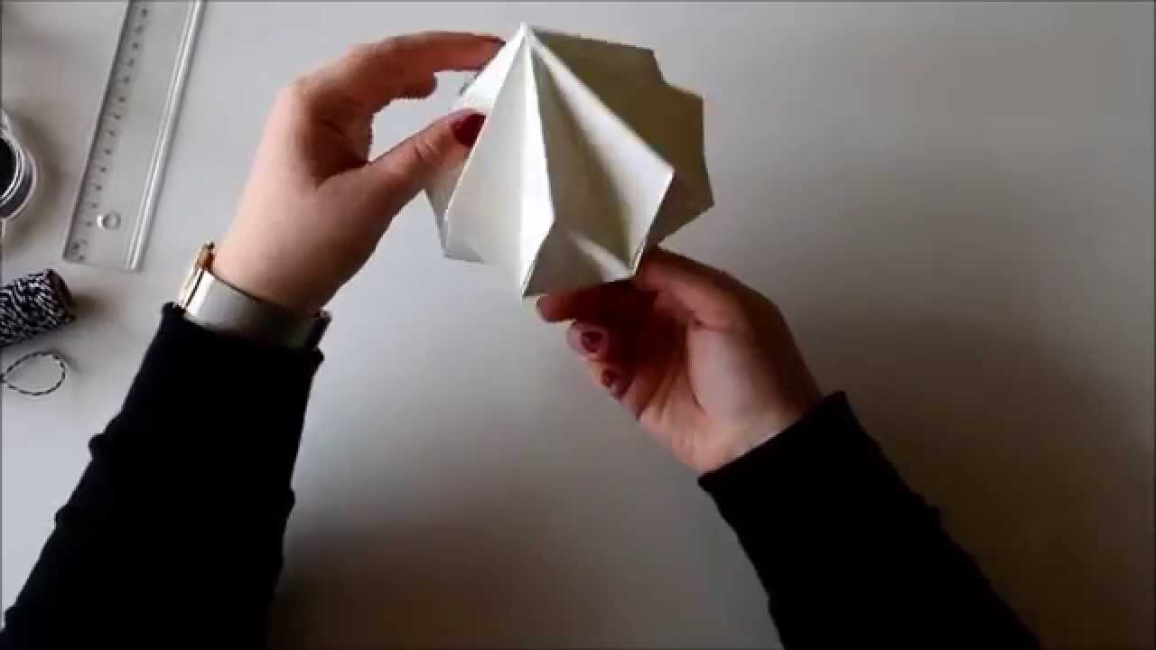 Papercraft DIY Origami Diamond
