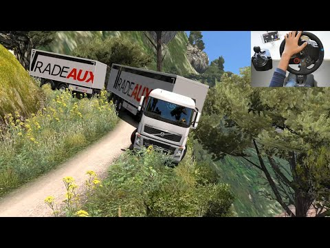 Dangerous Road VS Truck Driver | Euro Truck Simulator 2 | ETS2 Mod