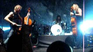 Mikko Siren and the cello - Live in Moscow 12.08.2010