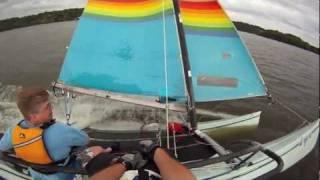 Hobie 18 Sailing - Bryan & Bob 2011