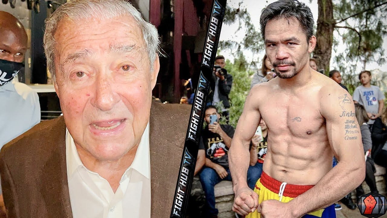 """""""DONT COUNT MANNY OUT!"""" BOB ARUM SAYS PACQUIAO'S MOVEMENT WILL GIVE ERROL SPENCE TROUBLE IN FIGHT!"""
