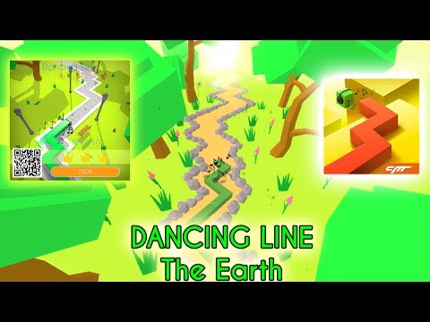 Dancing Line - The Earth: 3/3 Crowns + 10/10 Gems