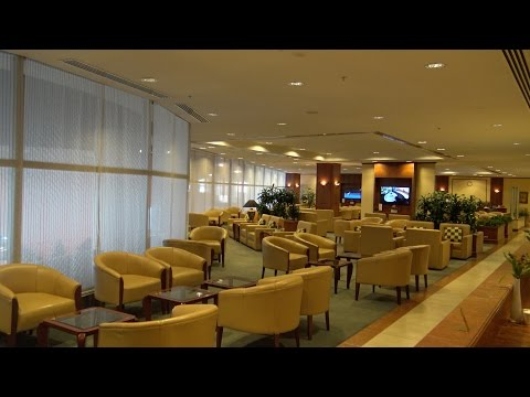 Emirates Business/First Lounge, Auckland International Airport, New Zealand