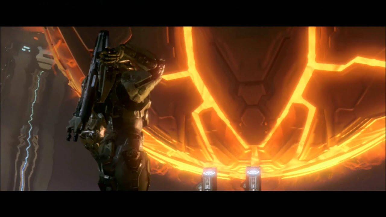 Halo 4 Master Chief Vs Forerunner: Master Chief Vs  Promethean