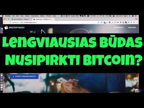 lengviausias bitcoin piniginė