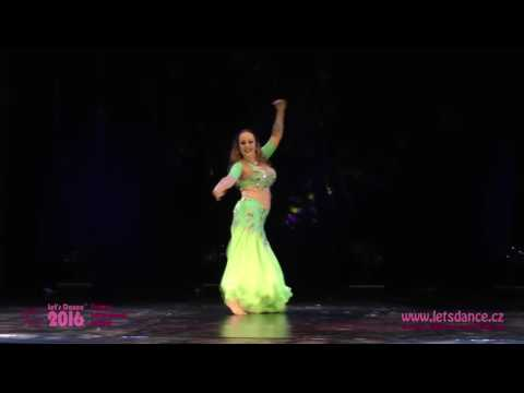 Tahira - 1st winner of raqs sharqi category, Let's Dance Festival, Prague 2016