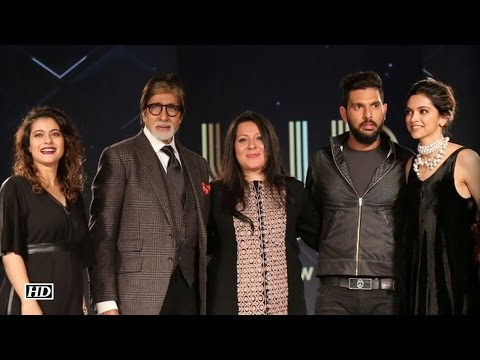 Big B, Deepika, Kajol shine at Yuvraj Singh's fashion label launch event