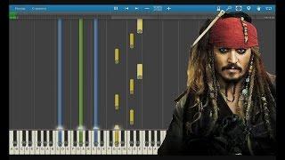 Пираты Карибского моря. Как играть?. Обучение. Пианино.