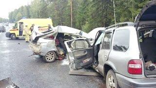 Жесткие аварии Августа вторая неделя