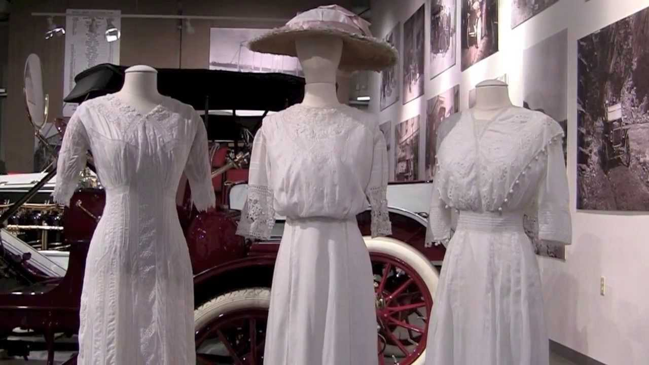 Edwardian Lingerie Dresses - Fountainhead Museum - Fairbanks Alaska ...