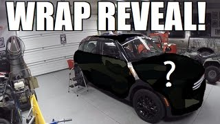 The REVEAL Of My NEW WRAP!