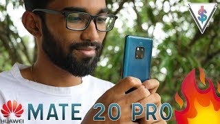 Huawei Mate 20 Pro - Emerald Green UNBOXING [Sri Lanka]