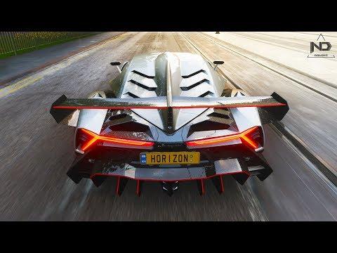 Forza Horizon 4 #8 - Chạy thử siêu xe Lamborghini Veneno   ND Gaming thumbnail