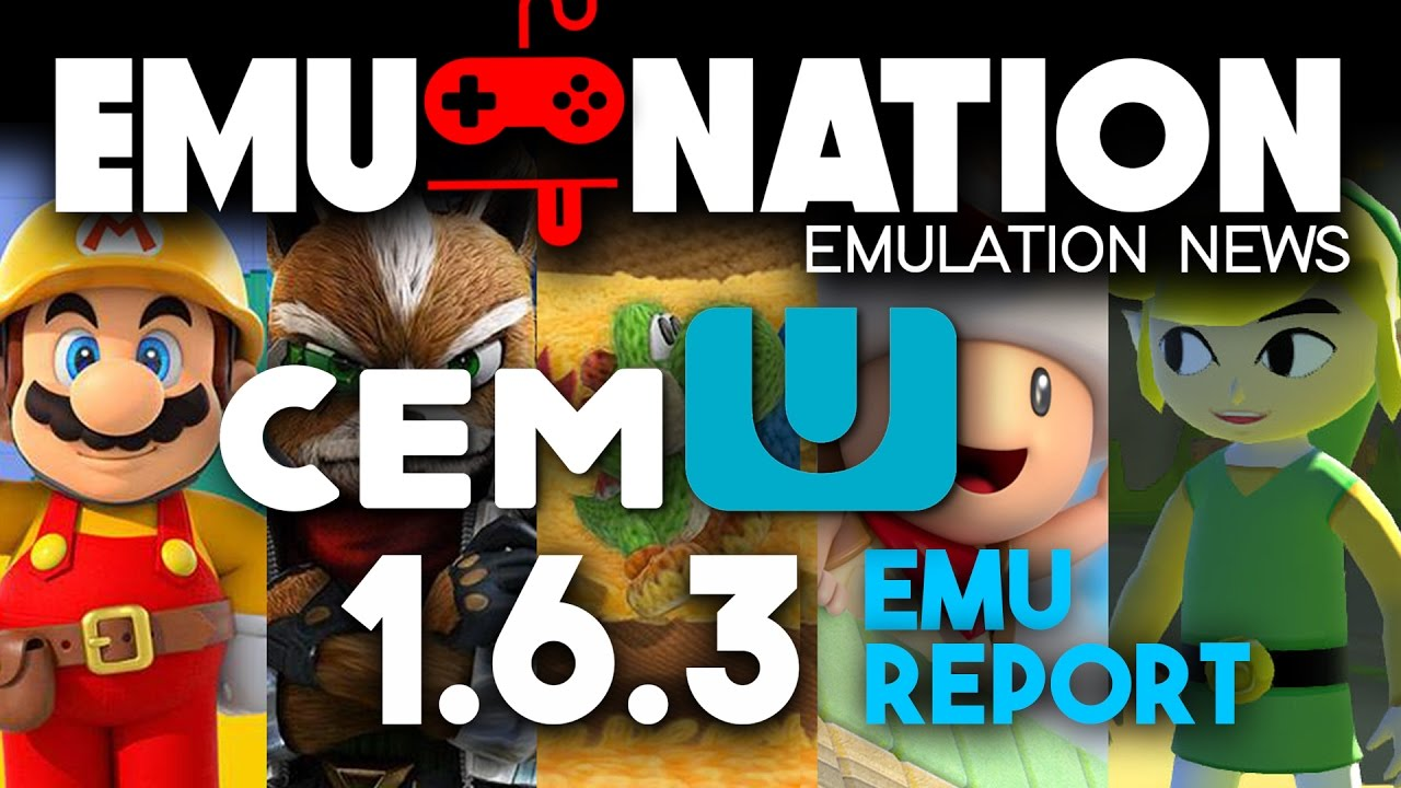 EMU-NATION: Cemu, the Wii U Emulator Compatibility Report!
