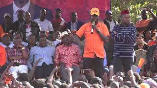 IMRAN OKOTH! MAKES A MAJOR SPEECH AT DC GROUNDS ON THANKS GIVING AFTER KIBRA POLL WIN