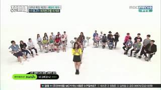 فرق الكوريه قوت 7 و جي فريند و توايس و بي تو بي يرقصون على اغانيهم سريع