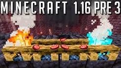 Minecraft Pré Release 3 : Nerf Fermes? Petits Changements et Fix