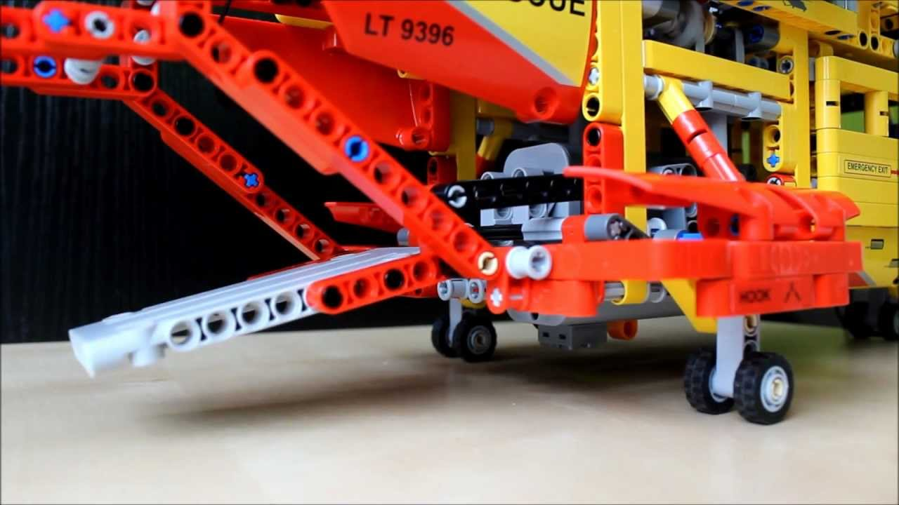 Lego Technic Helicopter 9396 Youtube