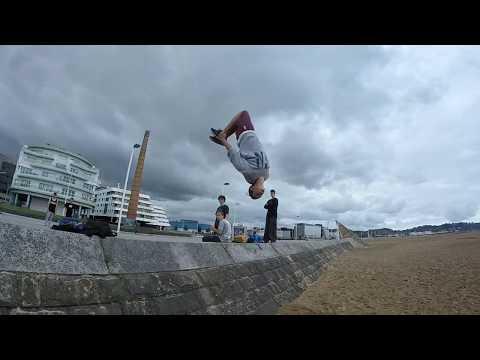 Trip to Asturias (Parkour and freerunning)