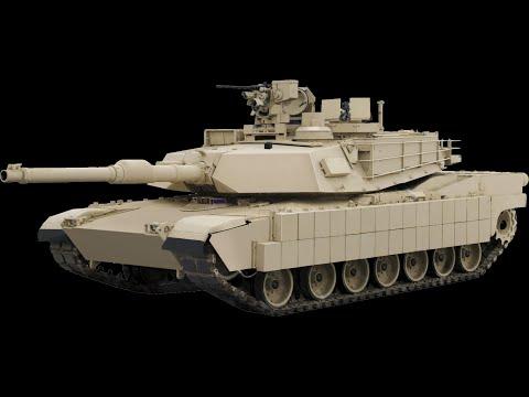 танк Абрамс против РПГ 7