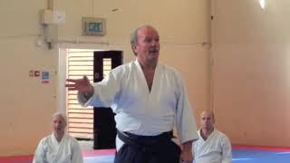 Peter Brady Shihan UKA Summer School 2013