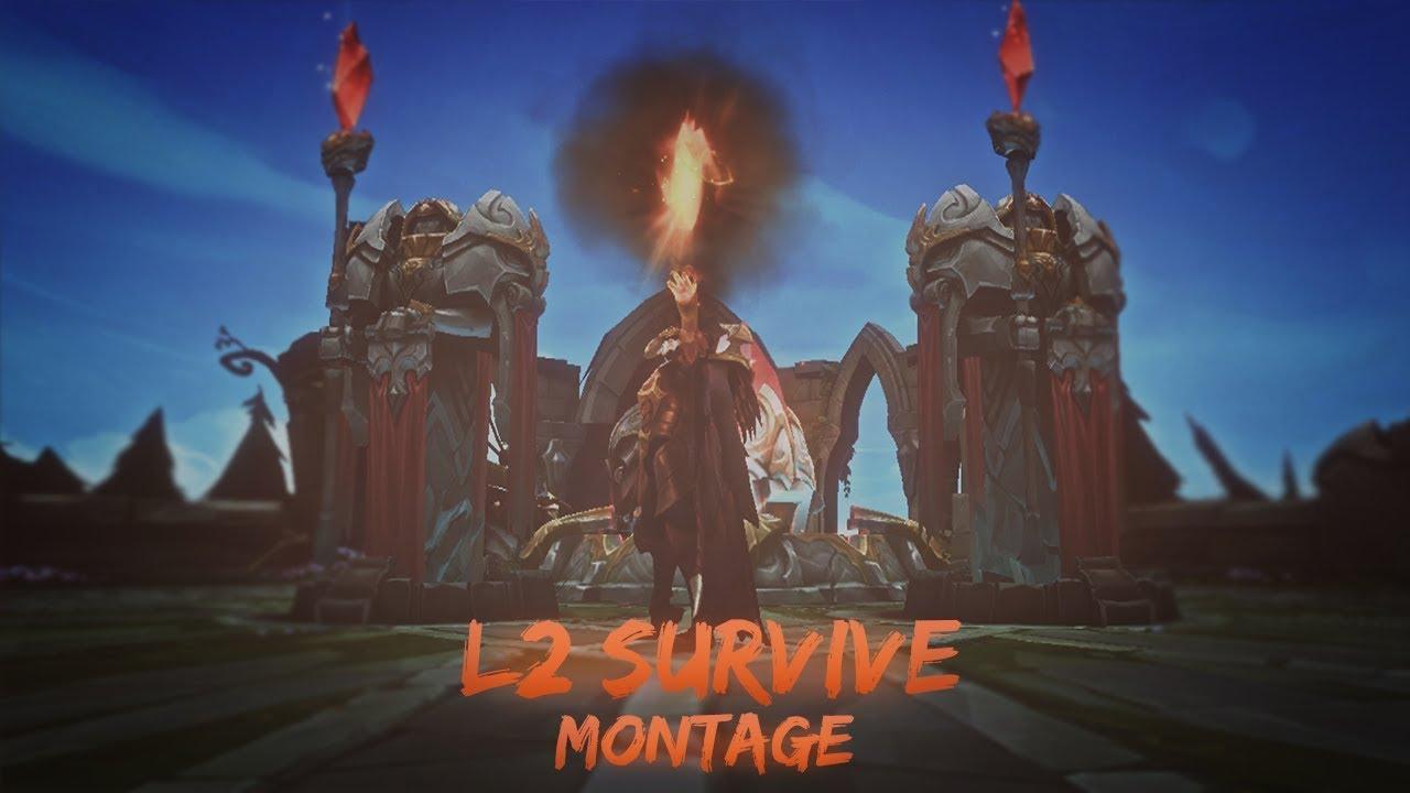 L2 Survive High Elo Montage - !! ليق اوف ليجندز - عندما يتحدث اللعب
