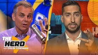 Nick Wright joins Colin to make some bold predictions for the 2019 NFL season | NFL | THE HERD