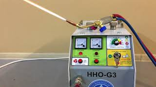 Automatical work of oxyhydrogen gas generator HHO-G3. Custom manufacturing!