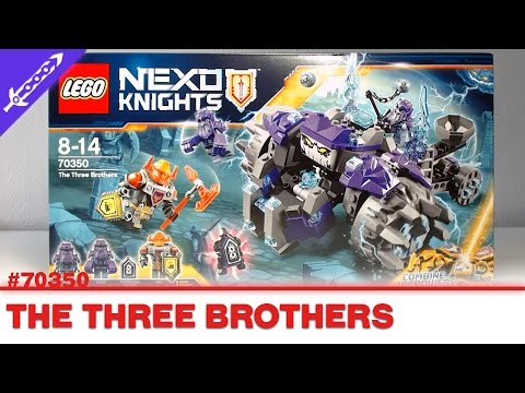 70350 LEGO NEXO KNIGHTS LES TROIS FRÈRES