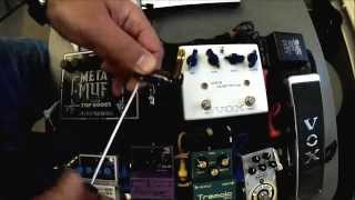 Planet Waves pedal board cable kit - Test