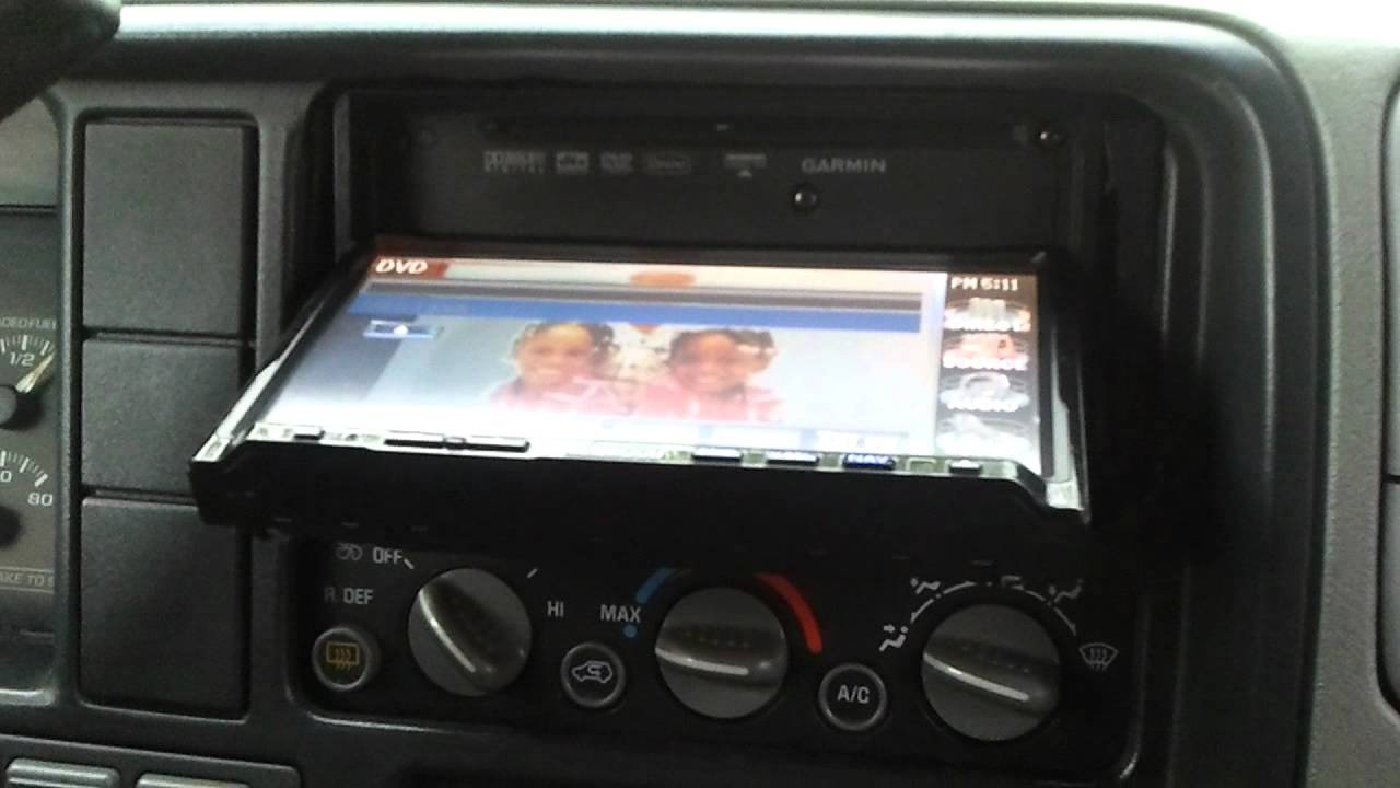 2005 jeep radio wiring diagram double din in 98 chevy tahoe youtube  double din in 98 chevy tahoe youtube