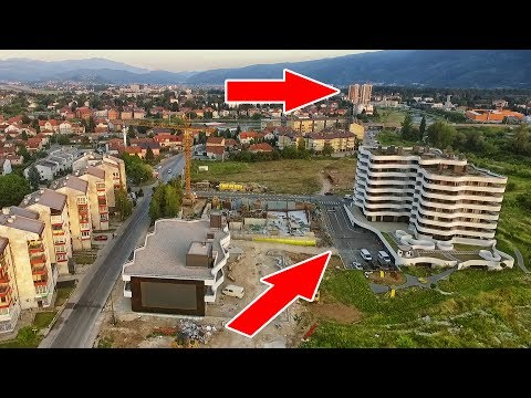Let od Ilidža Towers do Sarajevo Waves u Otesu