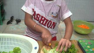 Pham Ngoc Anh cooking show 08