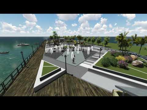 Dumanjug Boardwalk - proposed design