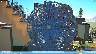 Planet Coaster #7 Wooden roller coaster