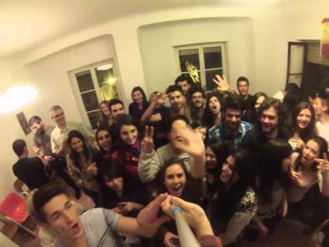 short preview from  farewell  erasmus party -fiesta de despedida - rozlučková párty