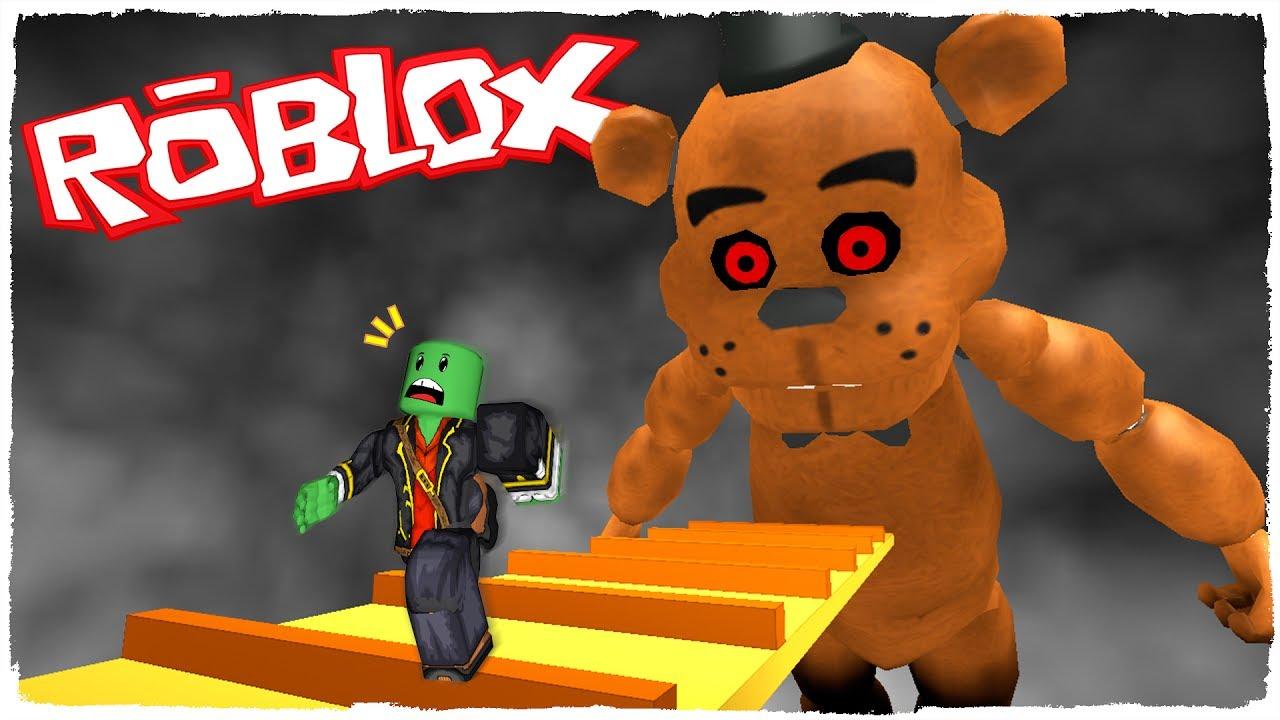 Escape De Fnaf Freddy En Roblox Youtube