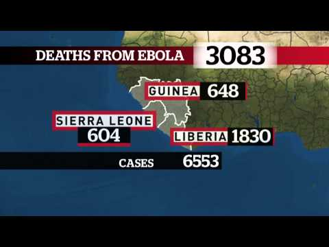 Ebola Deaths: Where we stand right now (INFOGRAPHIC)