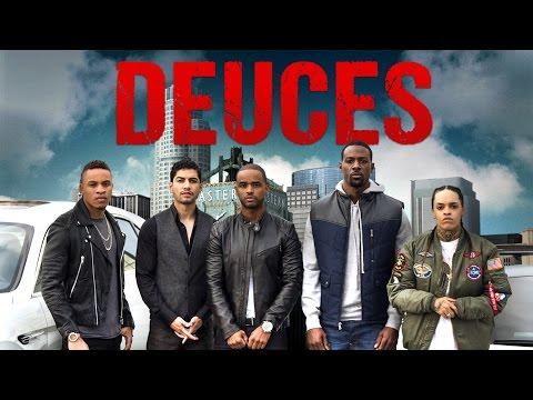 ", Larenz Tate & Lance Gross in Netflix's ""Deuces!"""