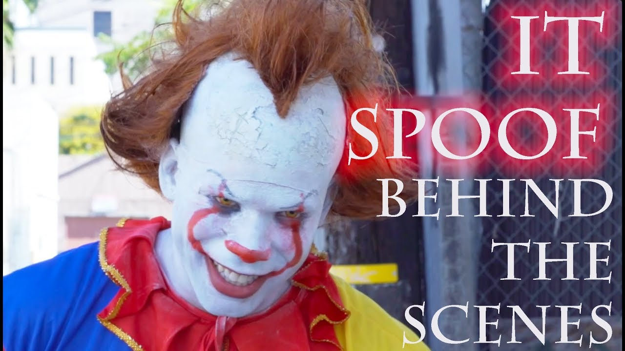 """""""IT"""" SPOOF - BEHIND THE SCENES/ MAKEUP TUTORIAL"""