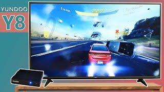 ve la TV Internacional o bjate juegos con el YUNDOO Y8  Android TV