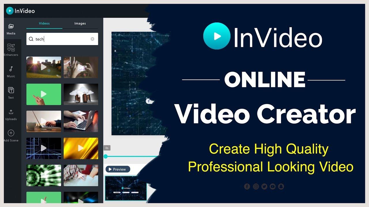 video editing software - invideo