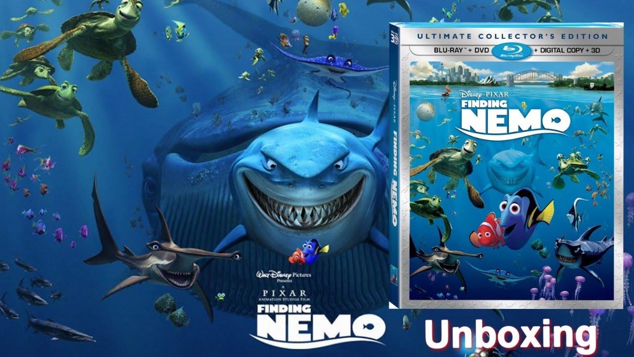 Wallpaper Monster Inc 3d Finding Nemo Blu Ray 3d Dvd Unboxing 2003 2012 Youtube