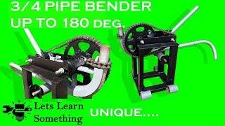 DIY || Pipe Bender using bicycle hub || Let's Learn Something