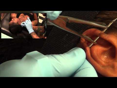 Industrial Piercing Experience
