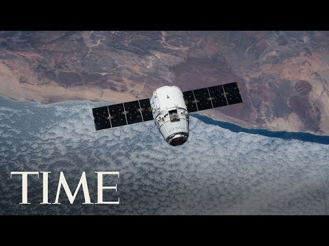 Footage Of SpaceX's Launch Of Falcon 9 To Resupply Dragon Spacecraft | TIME